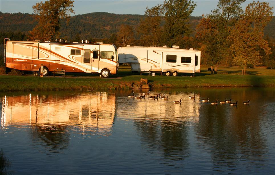 Premier RV Resort, lakeside - Eugene