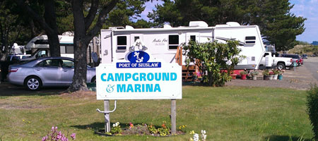 port-of-siuslaw-campground-sign