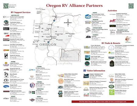 Distribution Oregon Rv Resource Guide